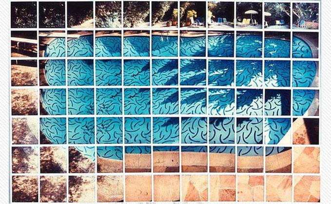 Hockney Photograph of Roosevelt pool